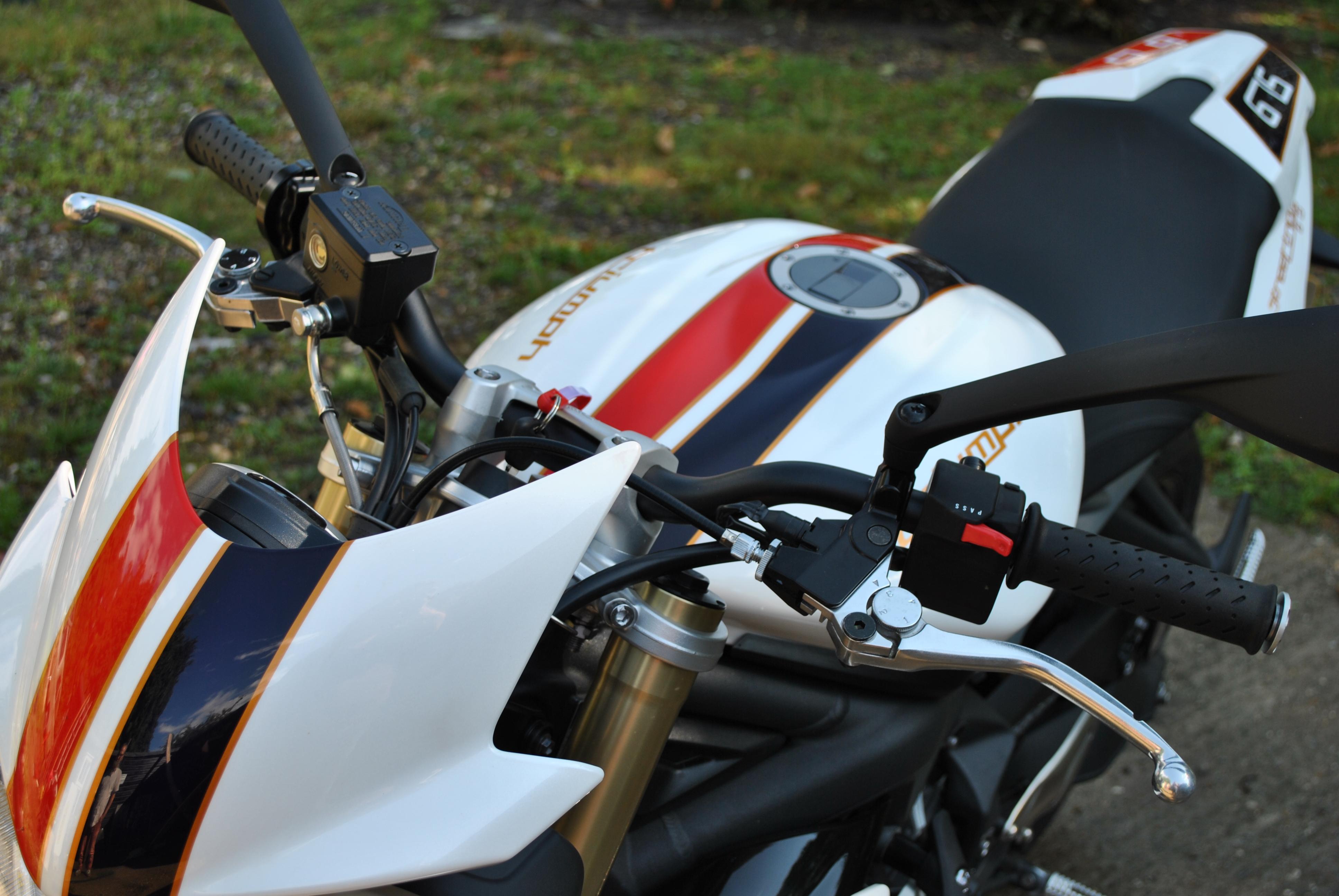 All bikes passess and Triumph 063